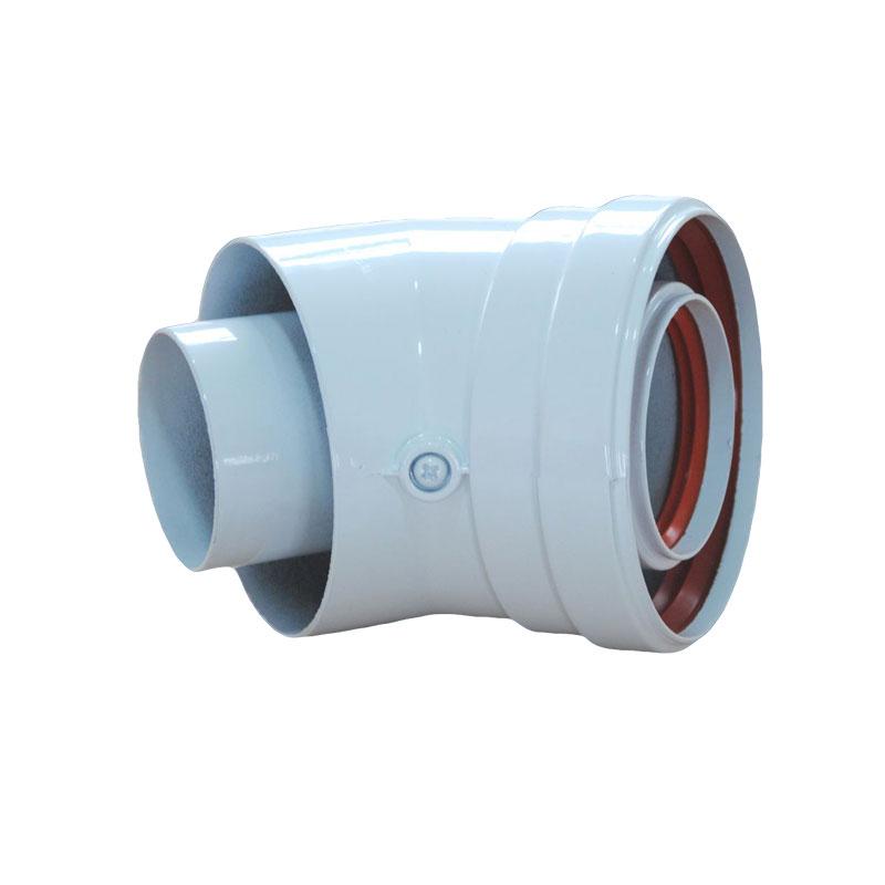Φ 60/100 мм коаксиальный удлинитель CW-45-02